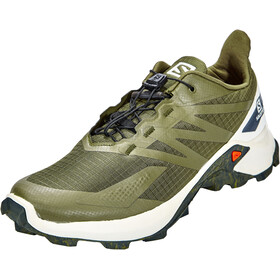 Salomon Supercross Blast Zapatillas Hombre, olive night/vanilla ice/ebony